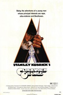 A Clockwork Orange Poster Large