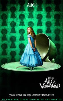 Alice in Wonderland Poster Large
