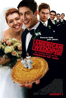 American Wedding Poster Large