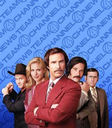 Anchorman: The Legend of Ron Burgundy Poster Large