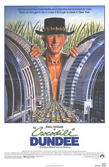 Crocodile Dundee In Los Angeles Poster Large