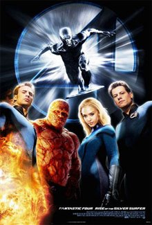 Fantastic Four: Rise of the Silver Surfer Poster Large
