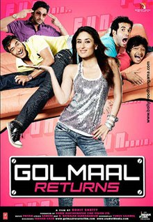 Golmaal Returns Poster Large