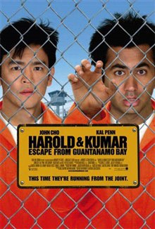Harold & Kumar Escape From Guantanamo Bay Poster Large