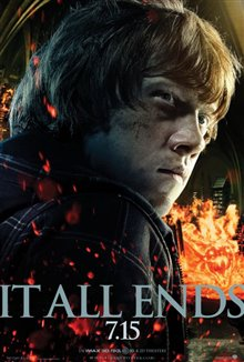 Harry Potter and the Deathly Hallows: Part 1 Poster Large