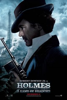 Sherlock Holmes: A Game of Shadows Poster Large