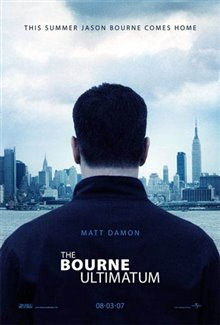 The Bourne Ultimatum Poster Large