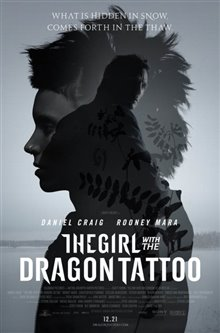 The Girl with the Dragon Tattoo Poster Large
