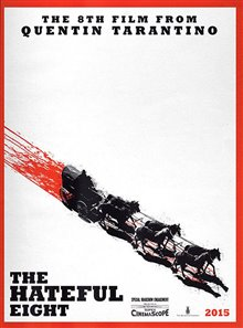 The Hateful Eight Poster Large