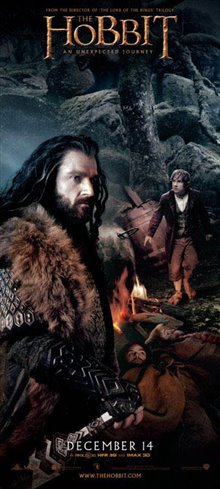 The Hobbit: An Unexpected Journey Poster Large