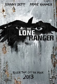 The Lone Ranger Poster Large
