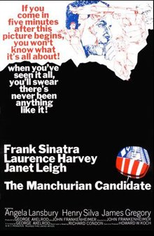 The Manchurian Candidate (1962) Poster Large