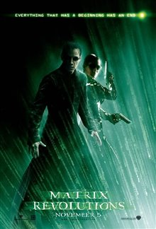 The Matrix Revolutions Poster Large