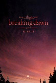 The Twilight Saga: Breaking Dawn - Part 1 Poster Large