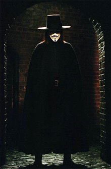 V for Vendetta Poster Large