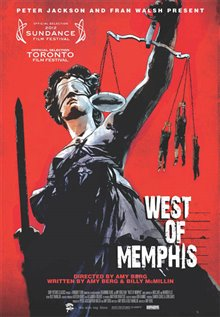 West of Memphis Poster Large
