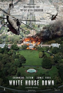 White House Down Poster Large