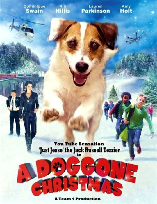A Doggone Christmas Poster Large