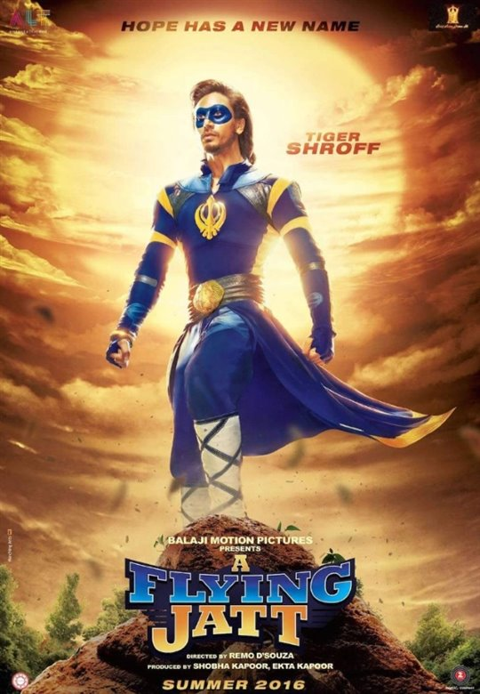 A Flying Jatt Poster Large