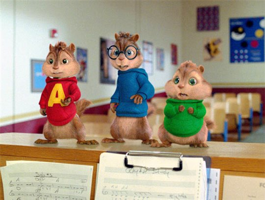 Alvin and the Chipmunks: The Squeakquel Poster Large