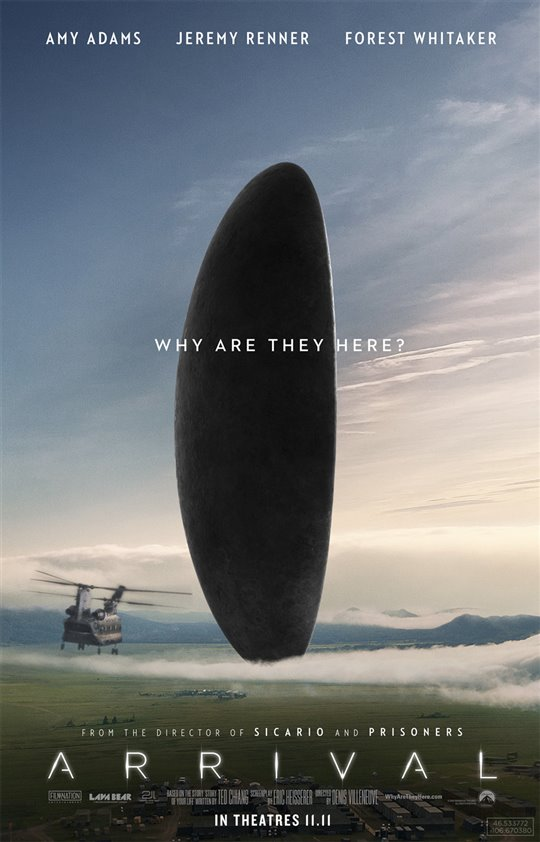 Arrival Poster Large
