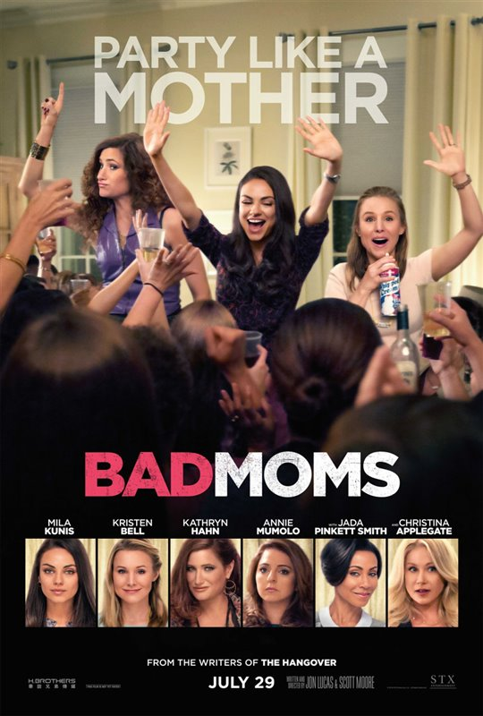 Bad Moms Poster Large