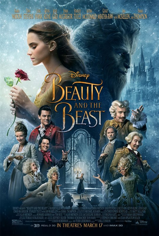 Beauty and the Beast Poster Large