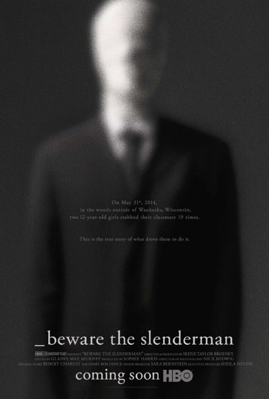 Beware the Slenderman (HBO) Poster Large