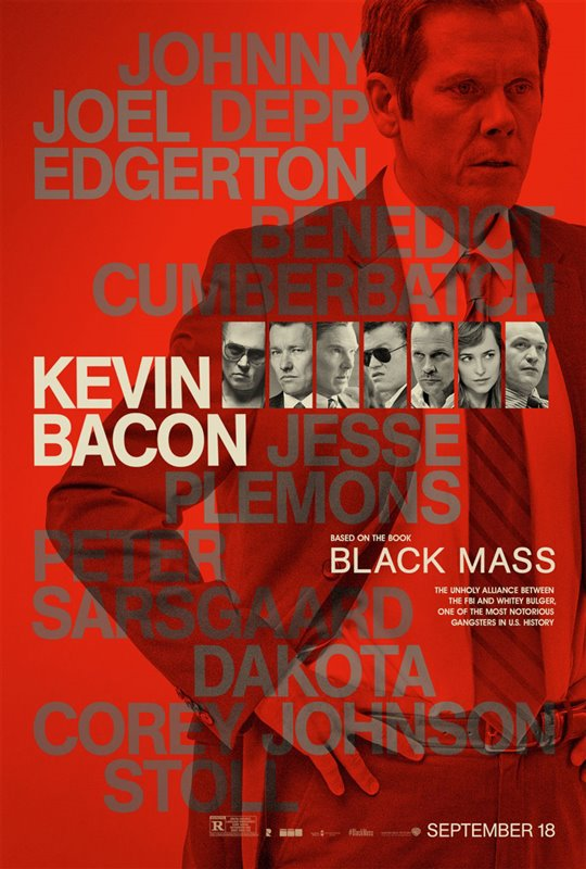 Black Mass Poster Large