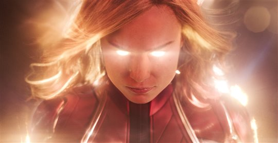 Captain Marvel Poster Large