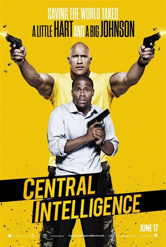 Central Intelligence Poster Large