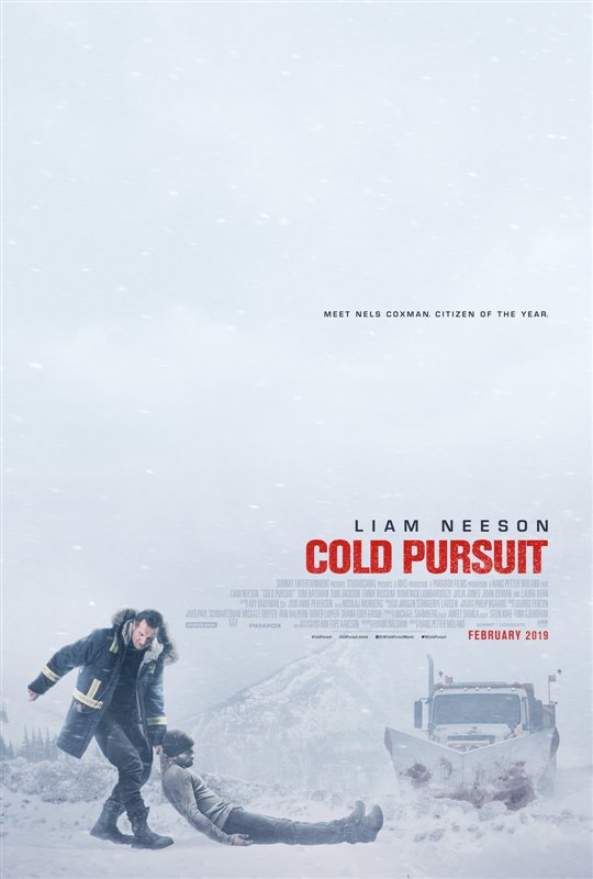 Cold Pursuit Poster Large