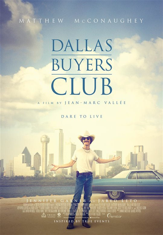 Dallas Buyers Club Poster Large