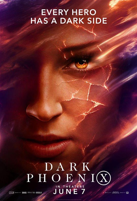 Dark Phoenix Poster Large