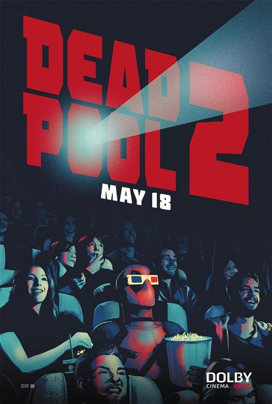Deadpool 2 Poster Large