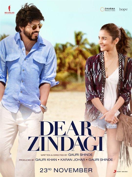 Dear Zindagi Poster Large