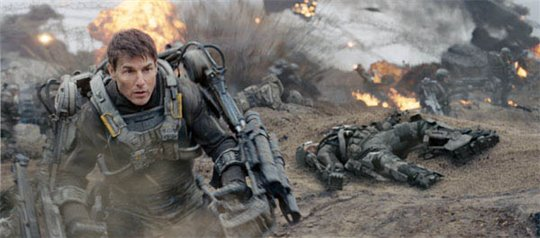 Edge of Tomorrow Poster Large