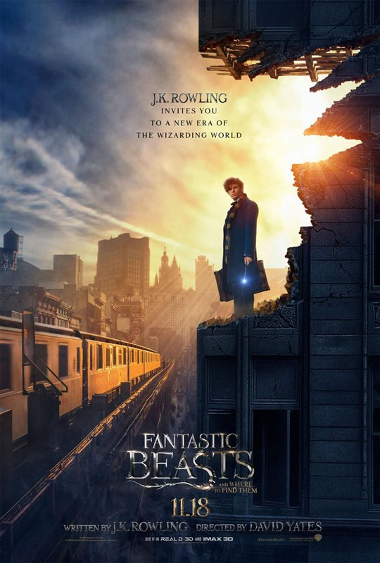 Fantastic Beasts and Where to Find Them Poster Large