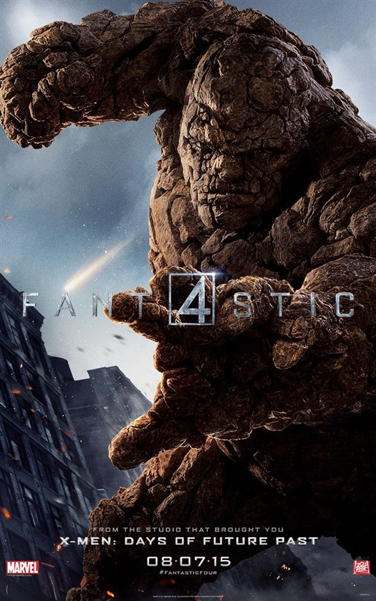 Fantastic Four Poster Large