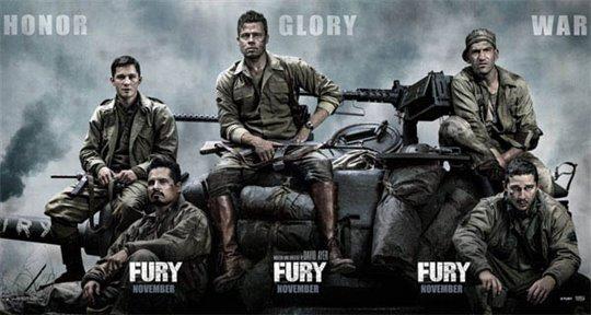 Fury Poster Large