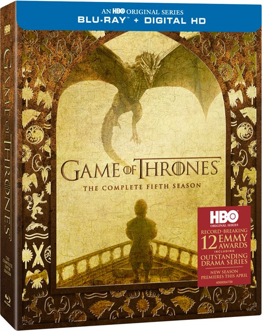 Game of Thrones: The Complete Fifth Season Poster Large