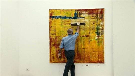 Gerhard Richter Painting Photo 3 - Large