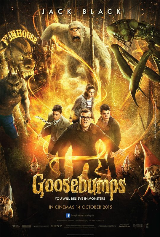 Goosebumps Poster Large