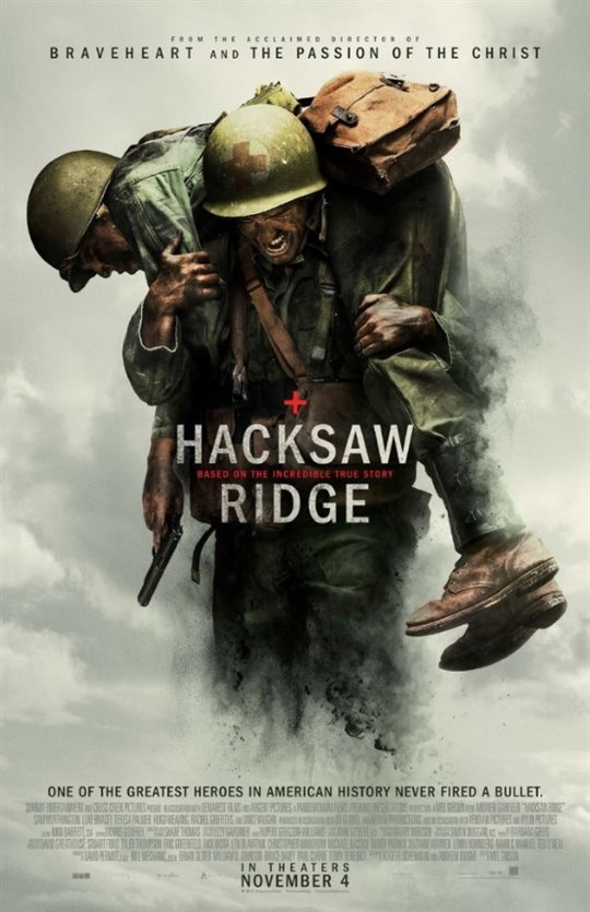 Hacksaw Ridge Poster Large