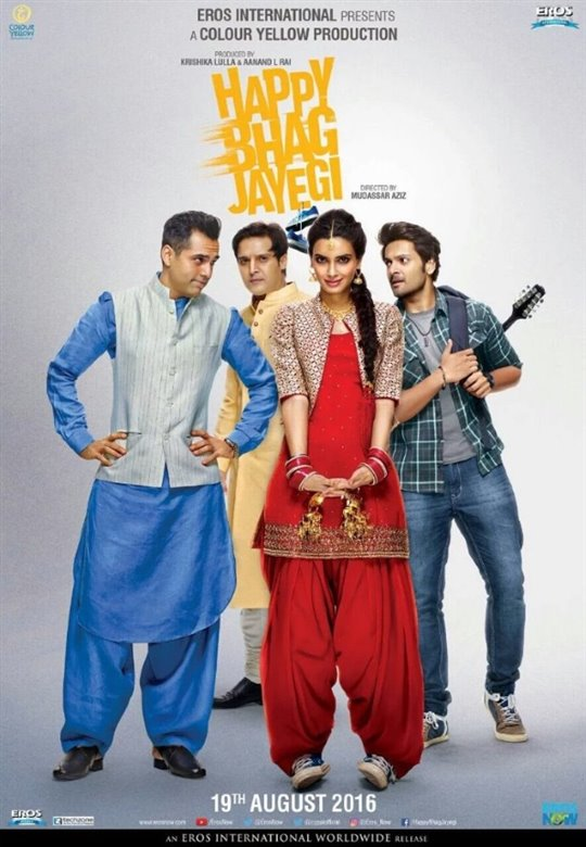 Happy Bhag Jayegi Poster Large