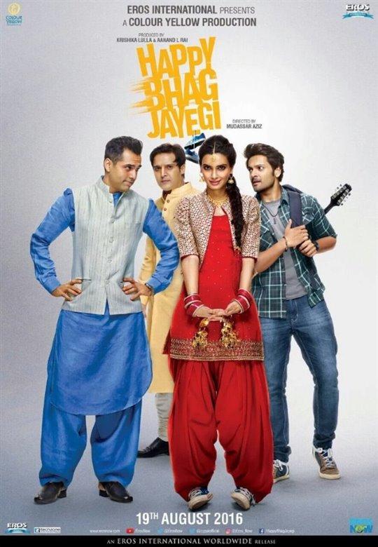 Happy Bhag Jayegi Poster Large