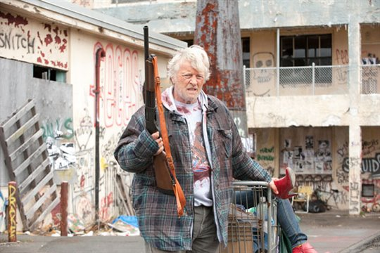 Hobo With a Shotgun Poster Large