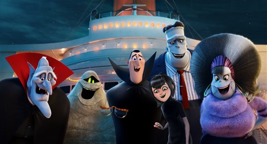 Hotel Transylvania 3: Summer Vacation Poster Large
