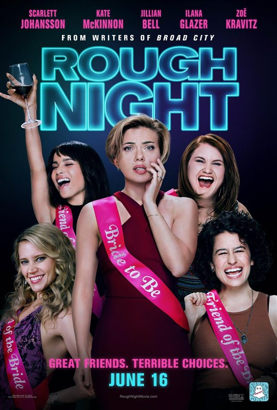 Rough Night Poster Large
