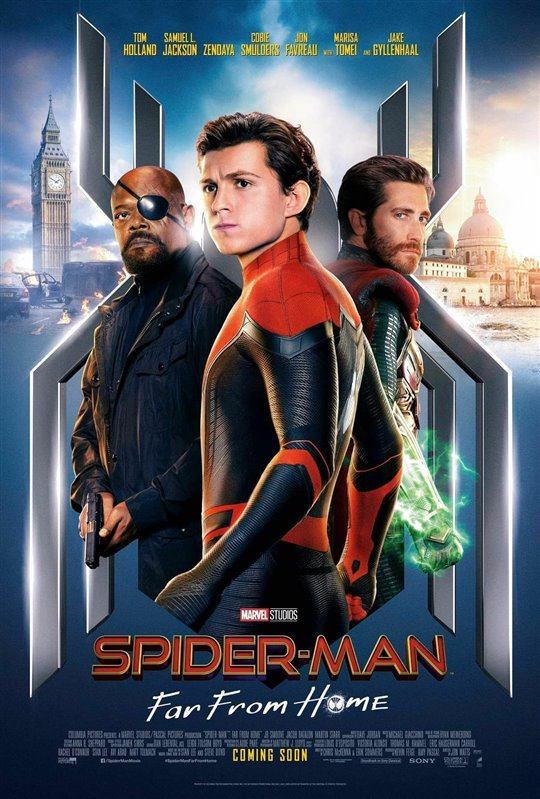 Spider-Man: Far From Home Poster Large